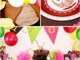 Owl themed Birthday Party Decorations Owl Birthday Party Look whoo 39 S One