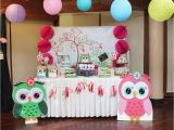 Owl themed Birthday Party Decorations Owl Birthday Quot Aria Gabrielle 39 S Owl Party Quot Catch My Party