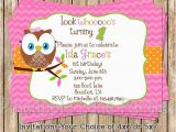 Owl themed First Birthday Invitations 1st Birthday Ideas Girls Owl themed First Birthday Party