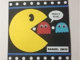 Pac Man Birthday Card Pac Man Birthday Card Cards by Me Pinterest Men