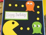 Pac Man Birthday Card Retro Pac Man Birthday Card