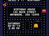 Pac Man Birthday Invitations Pacman Party Invitations Google Search Party Ideas