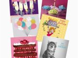 Packs Of Birthday Cards Birthday Card Pack for Her 6 Cards Per Pack