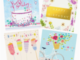 Packs Of Birthday Cards Female Birthday Card Pack 4 Cards Per Pack