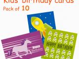 Packs Of Birthday Cards Kids 39 Birthday Pack B Packs Of Cards