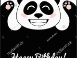 Panda Birthday Card Template Panda Birthday Card Template Happy Birthday Wishes