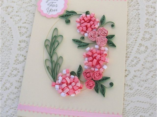 Paper Birthday Cards Online Handmade Quilled Ideas