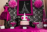 Paris Birthday theme Decorations Capes Crowns A Paris Party