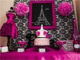 Paris Birthday theme Decorations Capes Crowns A Paris Party