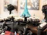 Paris Birthday theme Decorations French Parisian Party Ideas for A Girl Birthday Paris