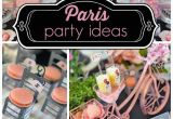 Paris Birthday theme Decorations southern Blue Celebrations Paris Party