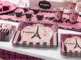 Paris themed Birthday Decorations A Day In Paris Party Supplies Party City
