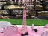 Paris themed Birthday Decorations Another Paris theme Birthday Party Real Parties
