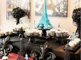 Paris themed Birthday Decorations French Parisian Party Ideas for A Girl Birthday Paris