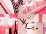 Paris themed Birthday Decorations Kara 39 S Party Ideas Poodle In Paris French Girl Pink 1st