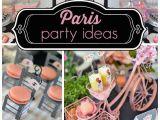 Paris themed Birthday Decorations southern Blue Celebrations Paris Party