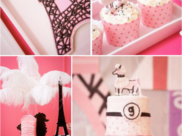 Paris Themed Birthday Party Decorations Kara 39 S Party Ideas Poodle
