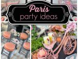 Paris themed Birthday Party Decorations southern Blue Celebrations Paris Party