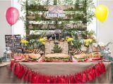 Park Birthday Party Decorations Kara 39 S Party Ideas Jurassic Park Birthday Party
