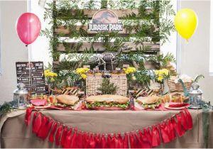 Park Birthday Party Decorations Kara 39 S Ideas Jurassic