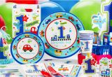Party City 1st Birthday Decorations All Aboard 1st Birthday Party Supplies 1st Birthday