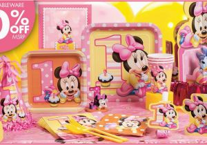 Party City 1st Birthday Decorations Minnie Mouse Supplies Canada