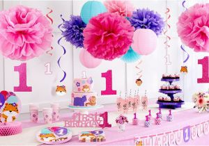 Party City 1st Birthday Decorations Sweet Girl 1st Birthday Party