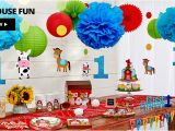 Party City Birthday Decoration 1st Birthday Decorations for Girls Boys Party City