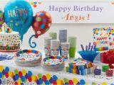 Party City Birthday Decoration Rainbow Balloon Bash Birthday Party Supplies Balloon