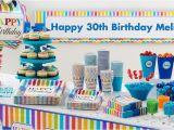 Party City Birthday Decoration Rainbow Chevron Party Supplies Chevron Adult Birthday