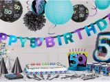 Party City Birthday Decoration the Party Continues 50th Birthday Party Supplies Party City