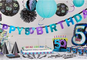 Party City Birthday Decoration The Continues 50th Supplies