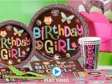 Party City Decorations for Birthday Party Hippie Chick Birthday Party Supplies Hippie Chick