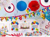 Party City Decorations for Birthday Party Rainbow Balloon Bash Birthday Party Supplies Balloon