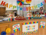 Party City Decorations for Birthday Party Rainbow Birthday Party Supplies Party City