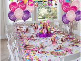 Party City Girl Birthday Decorations Barbie Table Idea