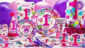Party City Girl Birthday Decorations Sweet Girl 1st Birthday Party Supplies 1st Birthday