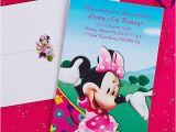 Party City Invitations for Birthdays Custom Minnie Mouse Invitation Idea Party City