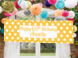 Party Decor Ideas for 60th Birthday 60th Birthday Ideas Party Pieces Blog Inspiration