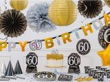 Party Decor Ideas for 60th Birthday Sparkling Celebration 60th Birthday Party Supplies Party