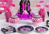 Party Favors 16th Birthday Girl 16th Birthday Party Supplies Sweet 16 Party Ideas