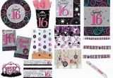 Party Favors 16th Birthday Girl Sweet 16 16th Sixteen Birthday Girls Party Decorations