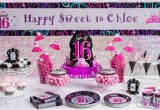 Party Favors 16th Birthday Girl Sweet 16 Sparkle Party Supplies Sweet 16 Birthday
