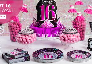 Party Ideas for 16th Birthday Girl 16th Birthday Party Supplies Sweet 16 Party Ideas