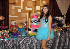 Party Ideas for 16th Birthday Girl Cirque Du soleil Sweet 16 Party B Lovely events
