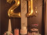 Party Ideas for 21st Birthday Girl Pink and Gold 21st Birthday Celebration Balloon