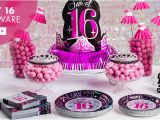 Party themes for 16th Birthday Girl 16th Birthday Party Supplies Sweet 16 Party Ideas