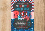 Patriotic Birthday Invitations Patriotic Pool Party Invitation You Print
