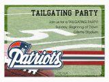 Patriots Birthday Party Invitations New England Patriots Invitations Cards On Pingg Com