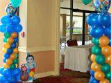 Peacock Birthday Decorations Krishna themed First Birthday